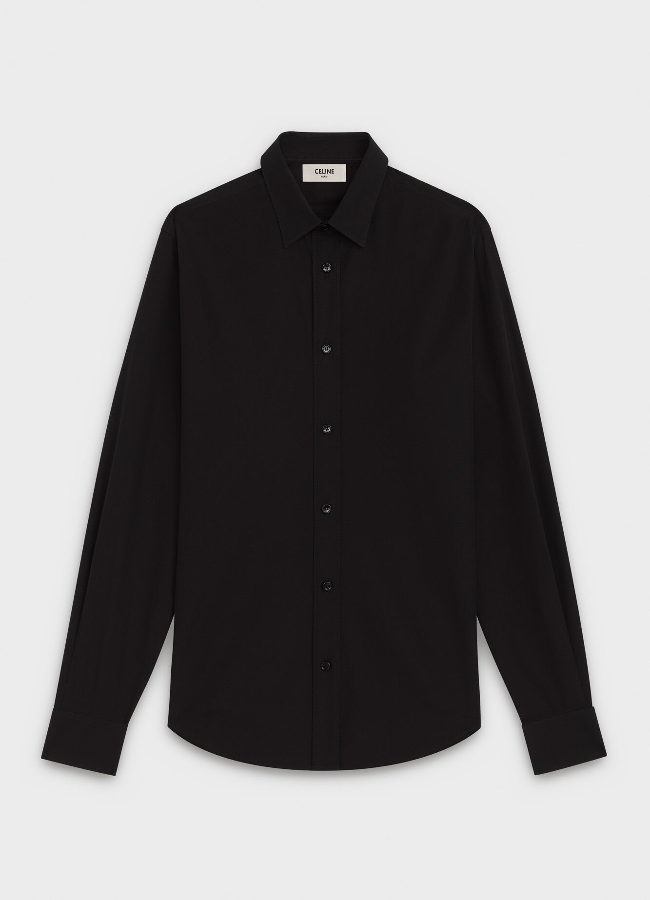 CELINE CLASSIC SHIRT IN CHAMBRAY WITH MODERN COLLAR