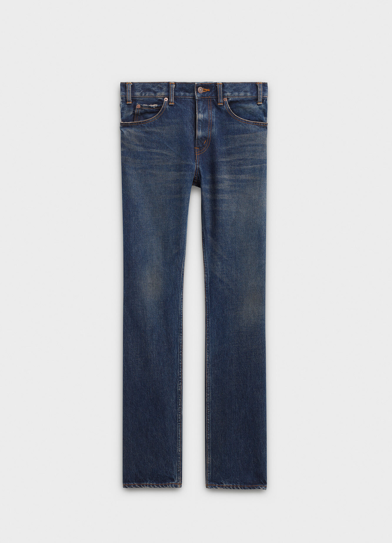CELINE REGULAR PANTS MID WAIST IN DENIM