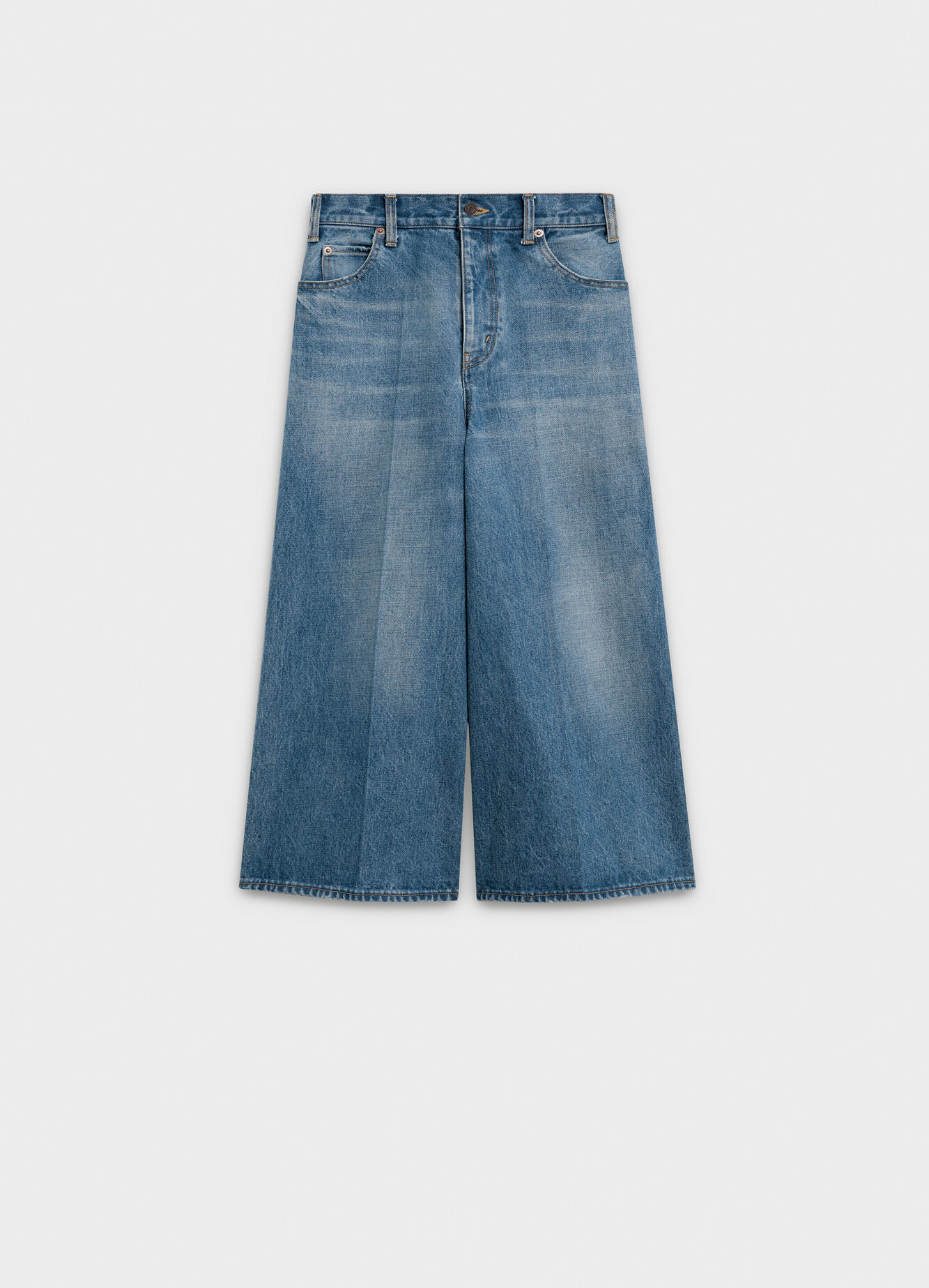 CELINE CULOTTE IN DENIM