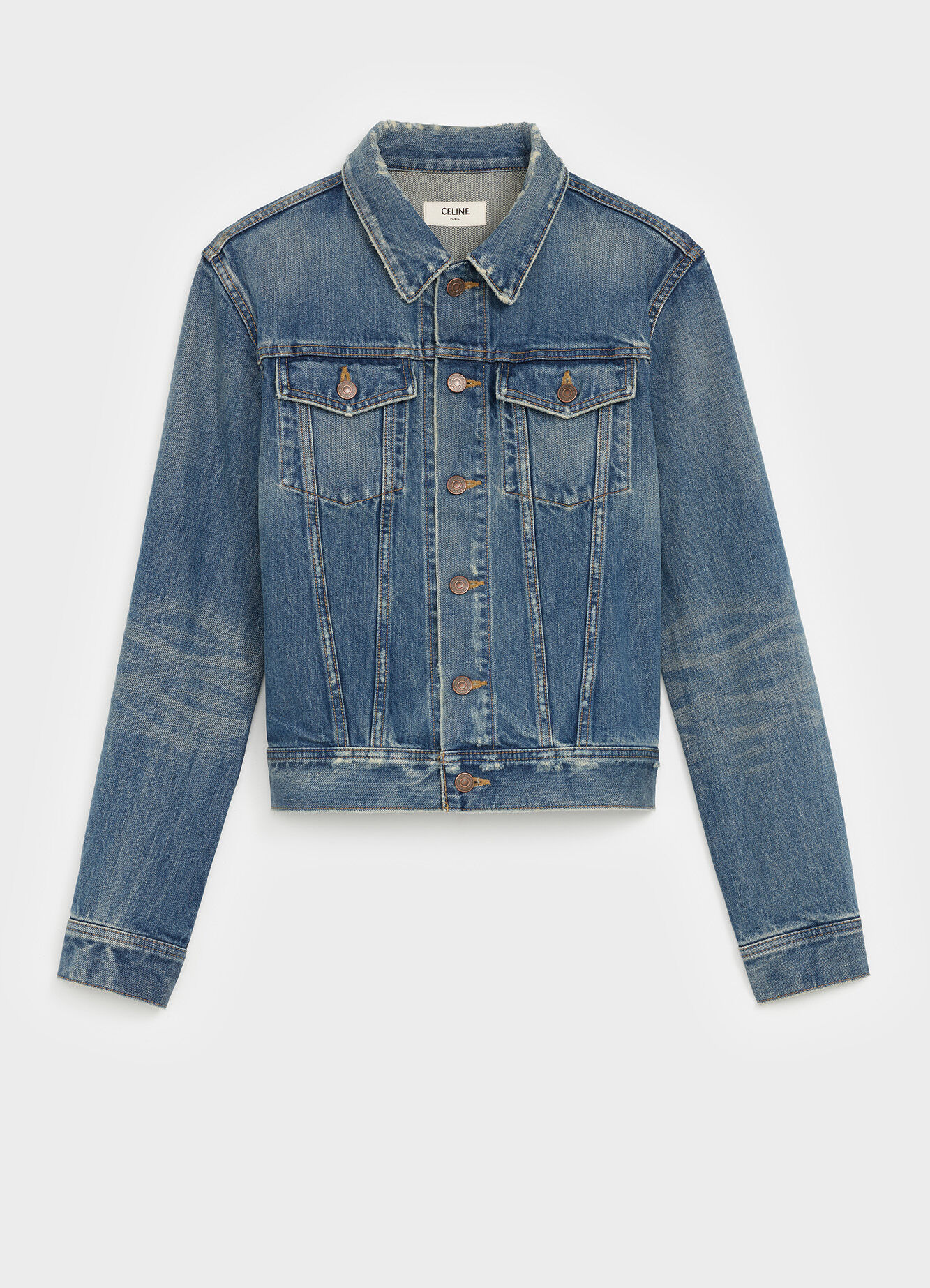 CELINE TRUCKER JACKET IN DENIM