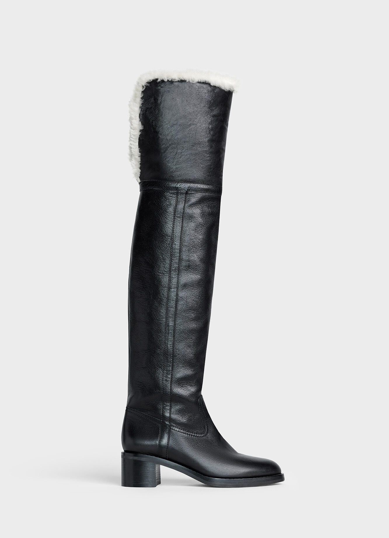 CELINE FOLCO OVER THE KNEE BOOT IN CALFSKIN